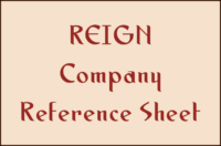 REIGN Company Reference Sheet